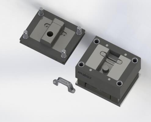 قطعه فلزی - قالب ریژه