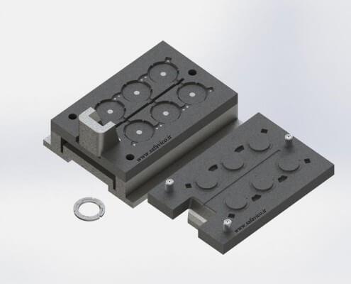 رینگ خودرو - قالب فلزی