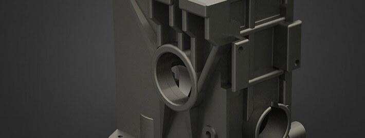 مدلسازی - پوسته گیربکس