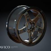 قالب سازی - رینگ اسپرت آلومینیومی چرخ خودرو