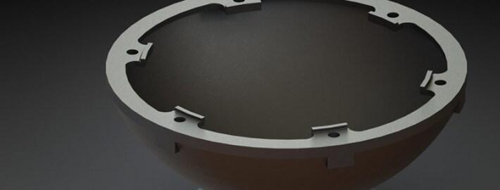 مدلسازی - درپوش پوسته گیربکس